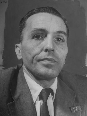 Portrait of Communist Leader Luis Carlos Prestes