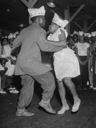 Workers at Atomic Plant Swing Dancing