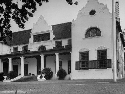 Groote Schuur, Cecil John Rhodes's Home and Presently the Cape Town Residence of the Prime Minister