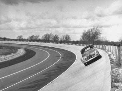 Chevrolet Being Tested on the General Motors Testing Ground