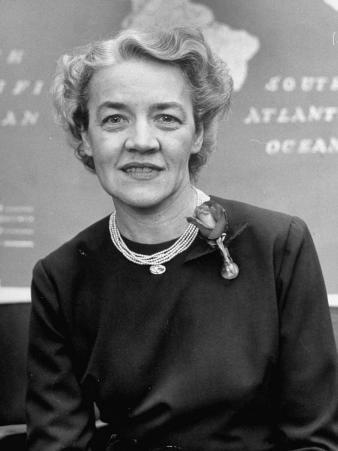 Senator Margaret Chase Smith, Representing the State of Maine, in Congress