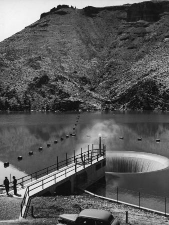 The Top of the Owyhee Dam on the Owyhee River