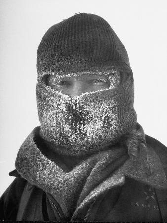 Col. Joseph O. Fletcher Wearing Mask