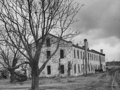 Last Remaining Original Building at the Louisiana State Penitentiary at Angola
