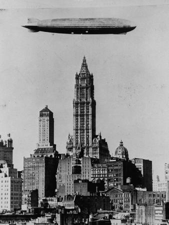 Zeppelin over NYC