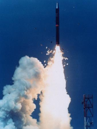 Test Launch of Midgetman Small Icbm Non-Operational System