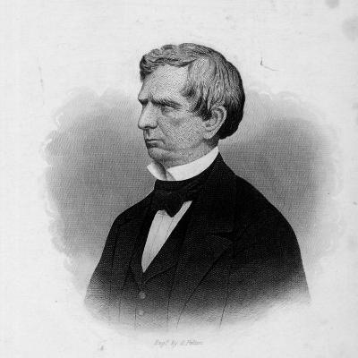 Engraving of William Seward, American Statesman and Secretary of State under President Lincoln