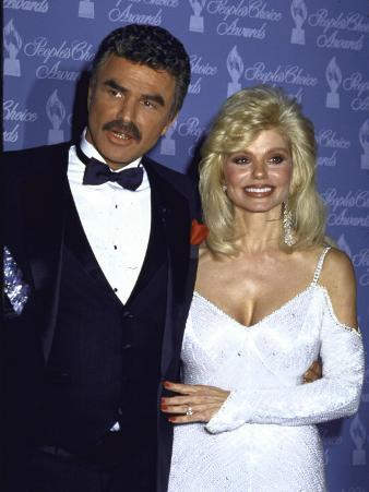 Married Actors Burt Reynolds and Loni Anderson at the People's Choice Awards