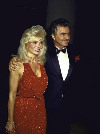 Married Actors Loni Anderson and Burt Reynolds