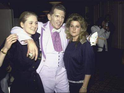 Singer Jerry Lee Lewis and Wife Kerrie with Daughter Phoebe at Rock and Roll Hall of Fame
