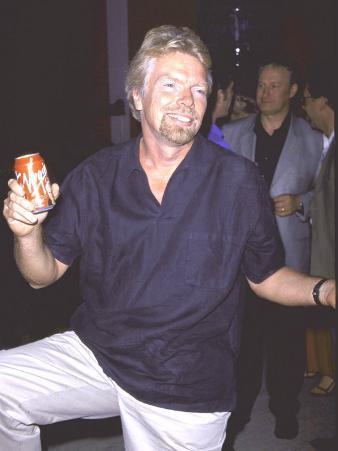 Entrepeneur Richard Branson
