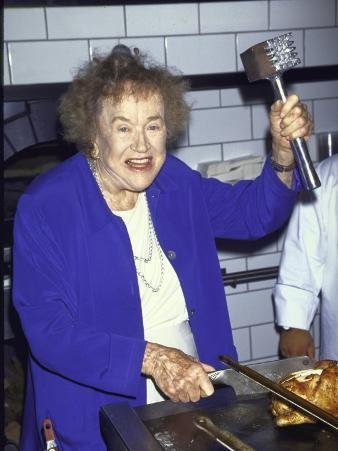 Television Cooking Expert Julia Child