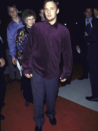 "Actor Brad Renfro at Film Premiere of His ""Apt Pupil"""