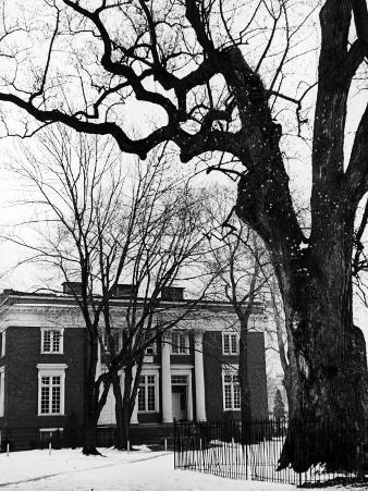 Building on Campus of St. John's College, Annapolis, Maryland