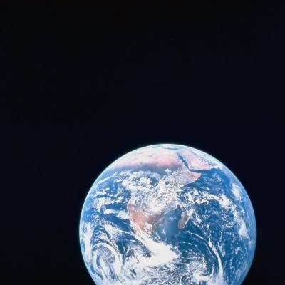Earth Viewed from Deep Space