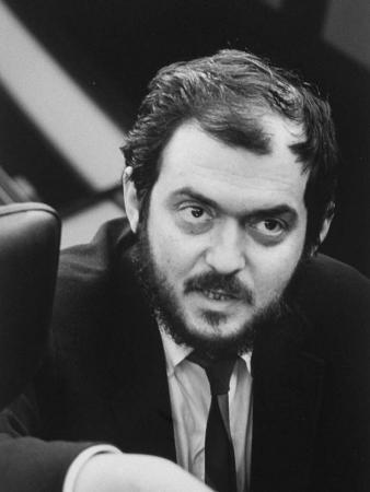 """Director, Stanley Kubrick, During Filiming of His Movie """"2001: a Space Odyssey"""""""