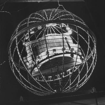 Tv Camera-Carrying Weather Satellite