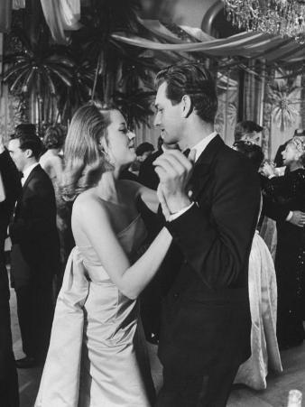 Jane Fonda Dancing at Charity Ball at Waldorf Astoria