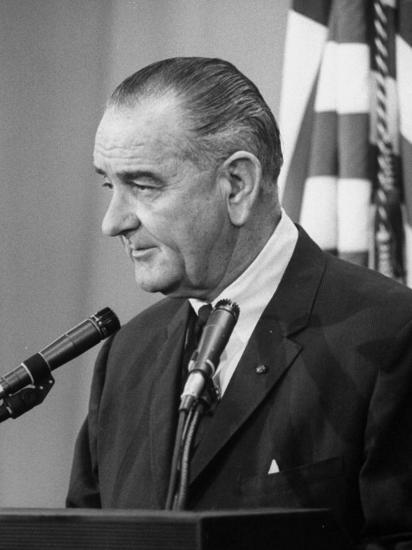 7a979199b5a0c President Lyndon B. Johnson at Press Conference Photographic Print at  AllPosters.com