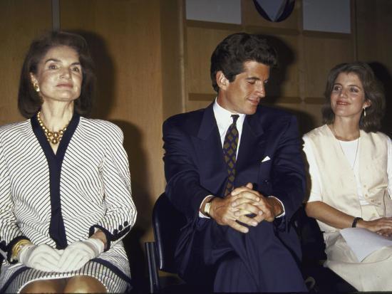 Jacqueline Kennedy Onassis and Her Children John F. Kennedy Jr ...