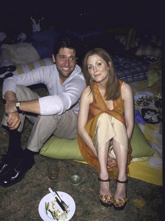 Director Bart Freundlich and Girlfriend, Actress Julianne Moore
