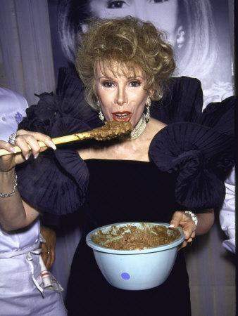 Comedienne Joan Rivers