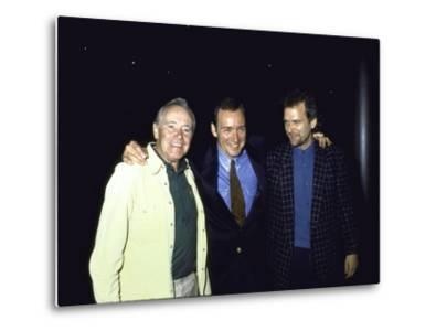 Actors Jack Lemmon and Kevin Spacey with Director James Foley