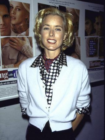 """Actress Tea Leoni at Film Premiere of Her """"Flirting with Disaster"""""""