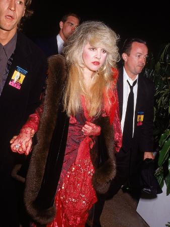 Lead Singer of Rock Group Fleetwood Mac, Stevie Nicks