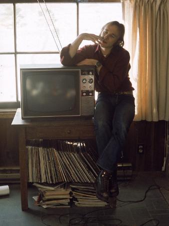 Musician Stephen Stills at Home