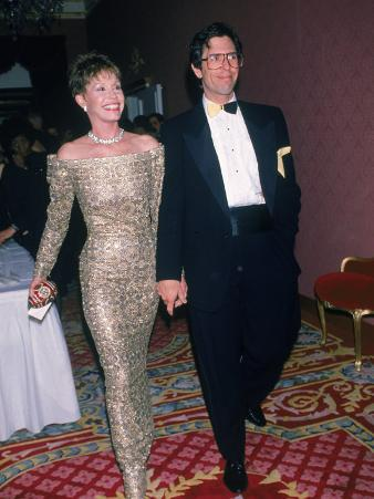 Actress Mary Tyler Moore and Husband, Dr. Robert Levine
