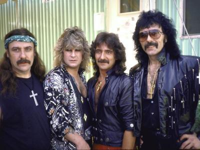 Ozzy Osbourne and Members of Heavy Metal Rock Group, Black Sabbath