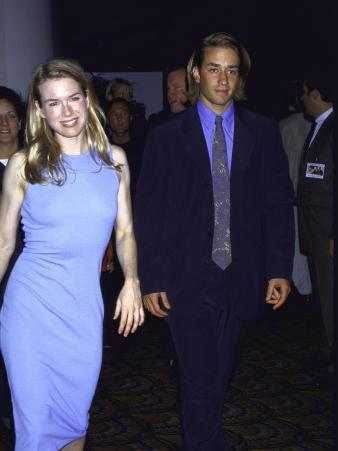 """Actors Renee Zellweger and Josh Pate at Premiere of Her Film """"One True Thing"""""""