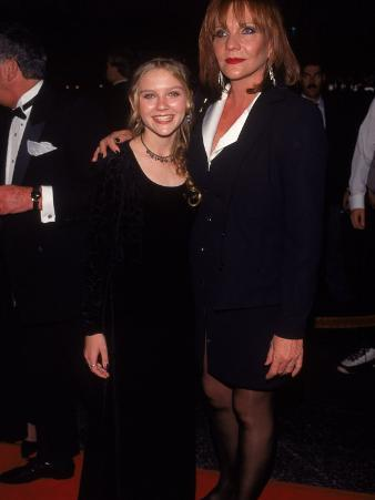 Actress Kirsten Dunst and Mother Inez at Cable Ace Awards