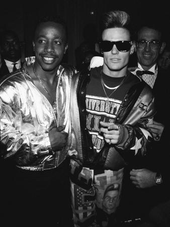Mc Hammer and Vanilla Ice Attending the Grammy Awards