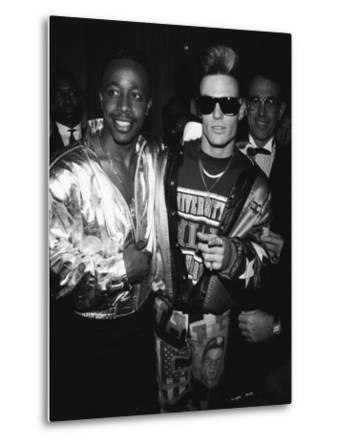 Mc Hammer and Vanilla Ice Attending the Grammy Awards ...
