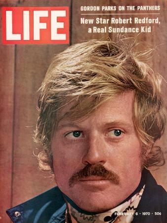 Life 2-6-1970 Cover of Actor Robert Redford, Cr: John Dominis