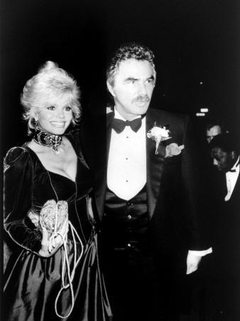 Actor Burt Reynolds with Wife Loni Anderson at Party Function