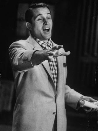 Popular Italo-American Song Singer Perry Como