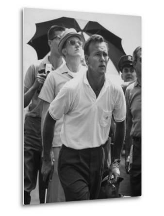 Golfer Arnold Palmer