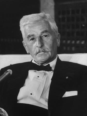 American Author William Faulkner