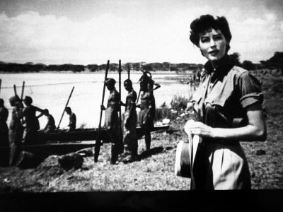 "Actress Ava Gardner Starring in a Scene from the Film ""Mogambo"""