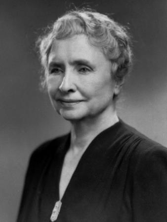 Noted Ldr. of Blind and Deaf Helen Keller
