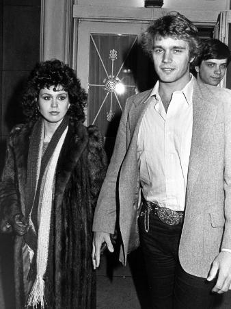 Singer Marie Osmond and Actor John Schneider Arriving at Funeral for Acting Teacher Lee Strasberg