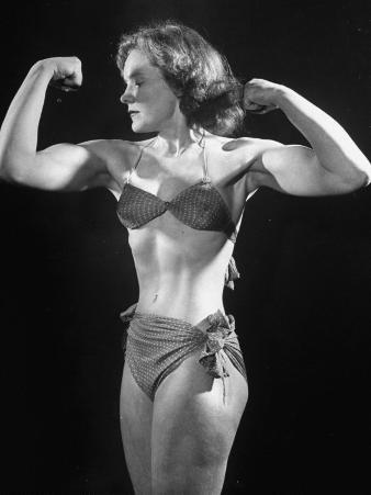 Joan Rhodes, British Strong Girl