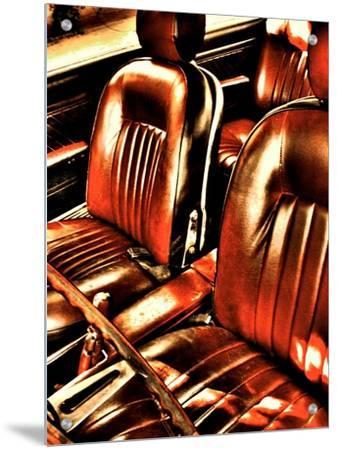 Classic Car Interior in Copper