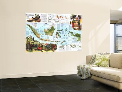 1996 Indonesia Theme Map