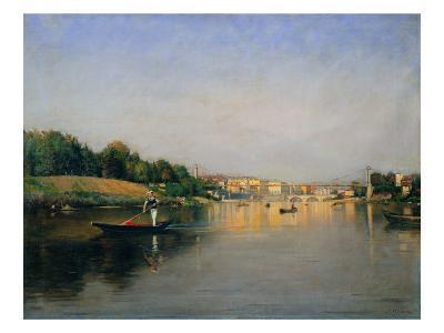 The Po River in Turin