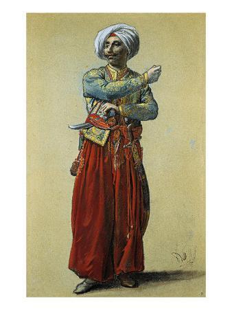 Standing Turkish Man