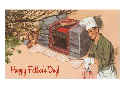 Happy Father's Day, Autumn Barbecue